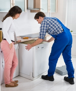 Dishwasher installation services by Sunnyappliancerepair
